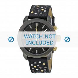Diesel Uhrenarmband DZ5432 Leder Schwarz 20mm
