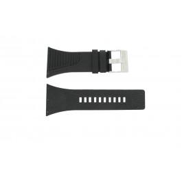 Uhrenarmband Diesel DZ7184 / DZ7180 Leder Schwarz 25mm