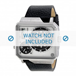Diesel Uhrenarmband DZ7242 Leder Schwarz 28mm