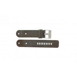 Diesel Uhrenarmband DZ9004 Leder Schwarz 36mm