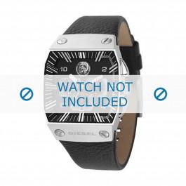Diesel Uhrenarmband DZ9013 Leder Schwarz 30mm