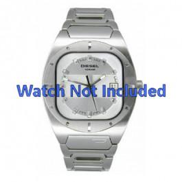Diesel Uhrenarmband DZ4116 Metall Weiss 19mm