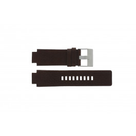 Uhrenarmband Diesel DZ1123 Leder Braun 18mm