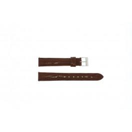Uhrenarmband Universal E360 Leder Braun 16mm
