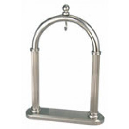 Zakhorloge standaard staal recht model