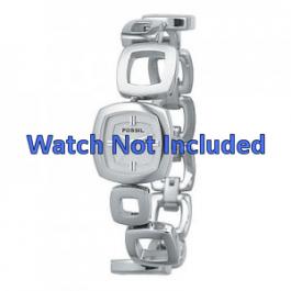 Fossil Uhrenarmband ES1869 / ES1884 / ES1964 Metall Silber 15mm