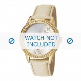 Esprit Uhrenarmband ES107302004-40L Leder Beige + standardnähte