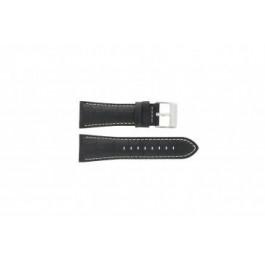 Uhrenarmband Festina F16235-6 / F16235-F Leder Schwarz 28mm