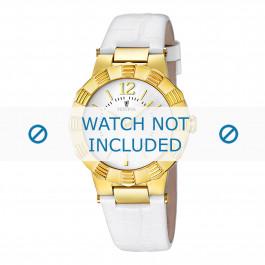Uhrenarmband Festina F16735/1 Leder Weiss 10mm