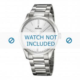Festina Uhrenarmband F16807-1 / F16807-2 Metall Silber 22mm