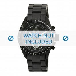 Uhrenarmband Fossil CH2601 Stahl Schwarz 22mm