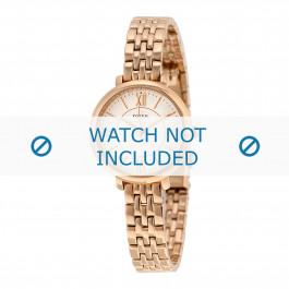 Fossil Uhrenarmband ES-3799 Stahl Gold (Rosa) 10mm