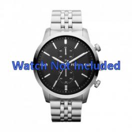 Uhrenarmband Fossil FS4784 Rostfreier Stahl Stahl 24mm