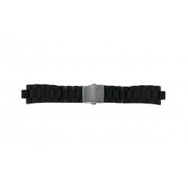 Guess Uhrenarmband I15056L1 / I11040L1 / I11005G2  Kunststoff Schwarz 22mm