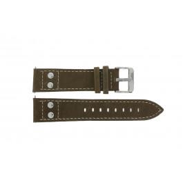 Uhrenarmband H820 Leder Braun 22mm