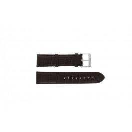 Hugo Boss Uhrenarmband  HB1512636 / HB659302334  braun echtes Leder