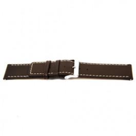 Uhrenarmband Universal M310 Leder Braun 32mm