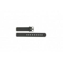 Jacob Jensen Uhrenarmband 700 serie  Gummi Dunkelgrau 17mm