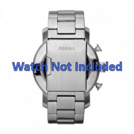 Uhrenarmband Fossil JR1353 Stahl 24mm