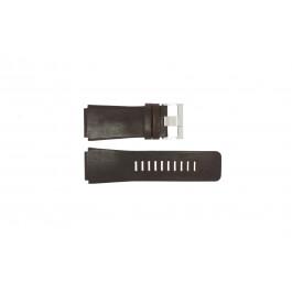 Uhrenarmband Fossil JR9121 Leder Braun 26mm
