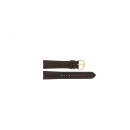 Lorus Uhrenarmband VX32-X380 Leder Braun 19mm
