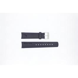 Uhrenarmband Nautica A18640G / A30004G / A12627G / A12627G Kautschuk Blau 22mm