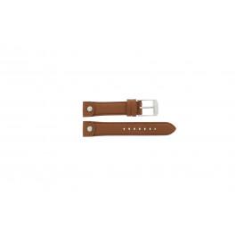 Uhrenarmband Michael Kors MK2165 Leder Braun 18mm