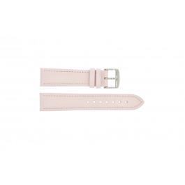 Uhrenarmband Universal 283R.14 Leder Rosa 24mm