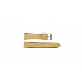 Uhrenarmband Seiko 7T92-0NK0 / SNDD69P1 / L08C012N0 Leder Hellbraun 22mm
