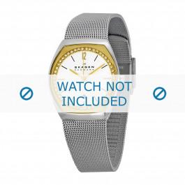 Skagen Uhrenarmband SKW2050 Metall Silber