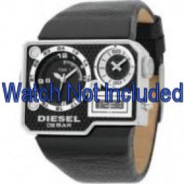 Uhrenarmband Diesel DZ7101 Leder Schwarz 39mm