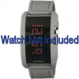 Diesel Uhrenarmband DZ7163 Silikon Grau 24mm