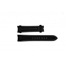 Uhrenarmband Breil TW0678 Leder Schwarz 22mm