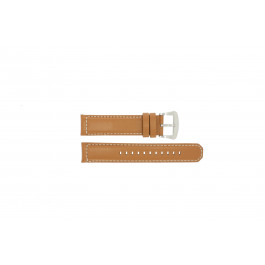 Uhrenarmband Seiko V172-0AG0 / SSC081P1 Leder Braun 21mm