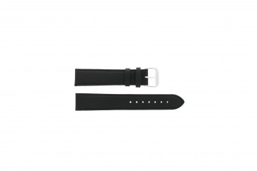Uhrenarmband Condor 054L.01 XL Leder Schwarz 14mm