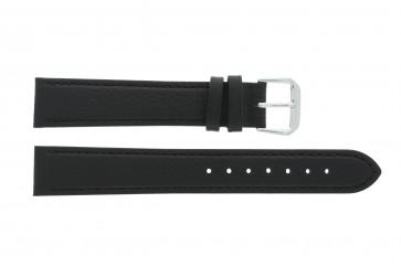 Uhrenarmband Condor 054R.01 Leder Schwarz 22mm