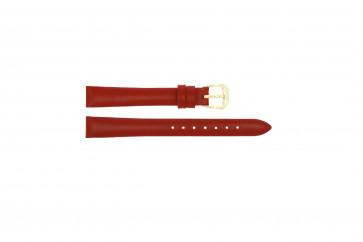 Uhrenarmband Condor 241R.06 Leder Rot 18mm
