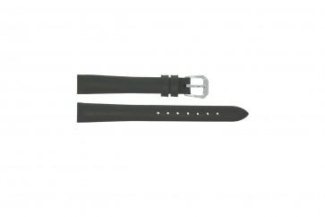 Uhrenarmband Universal 241R.07 Leder Grau 14mm
