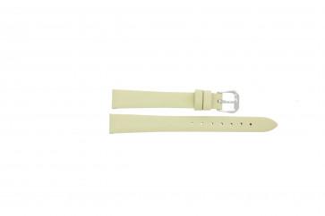 Uhrenarmband Condor 241R.00.12 Leder Cremeweiß 12mm