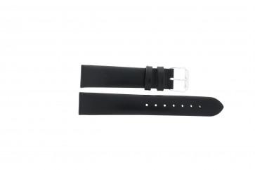 Uhrenarmband Condor 241R.01 Leder Schwarz 18mm