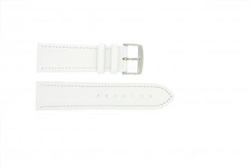 Echtes Leder weiß 18mm 283