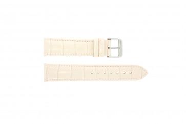 Uhrenarmband Universal 285.15 Leder Rosa 20mm