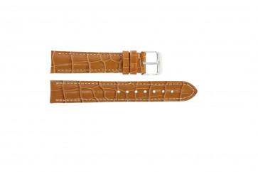 Uhrenarmband Universal 285.27 Leder Braun 24mm