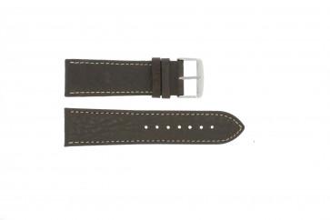 Uhrenarmband Universal 307.02 Leder Braun 20mm