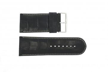 Uhrenarmband Universal 61324-36B Leder Blau 36mm