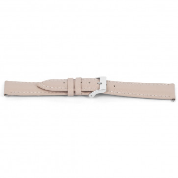 Uhrenarmband Universal F716 Leder Rosa 18mm