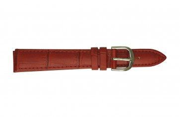 Davis Uhrenarmband rot 18mm B0210