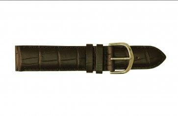 Davis Uhrenarmband schwarz 16mm B0215