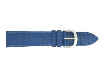 Davis Uhrenarmband blau 20mm B0216