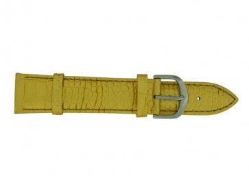 Davis Uhrenarmband goldgelb 18mm B0235